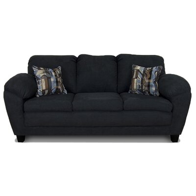 Curren Sofa Upholstery: Bulldozer Black