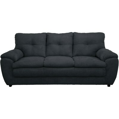 Beneduce Sofa Upholstery: Bulldozer Black