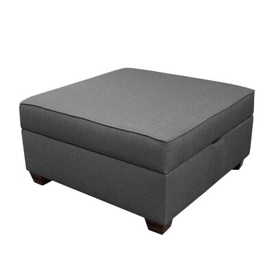 Attica Ottoman Color: Flint