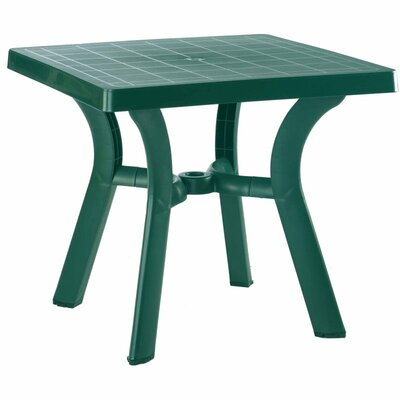Snake River Square Dining Table Finish: Green