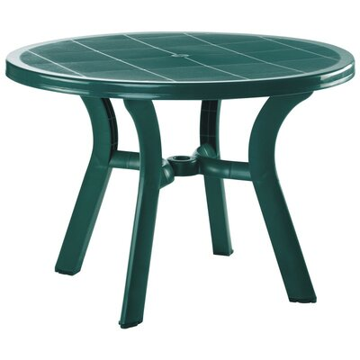 Snake River Round Dining Table Finish: Green