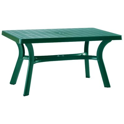 Snake River 55 Dining Table Finish: Green, Table Size: 55