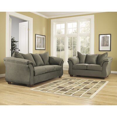 Chisolm 2 Piece Living Room Set Color: Sage