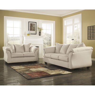 Lavery 2 Piece Signature Design by Ashley Living Room Set Color: Stone