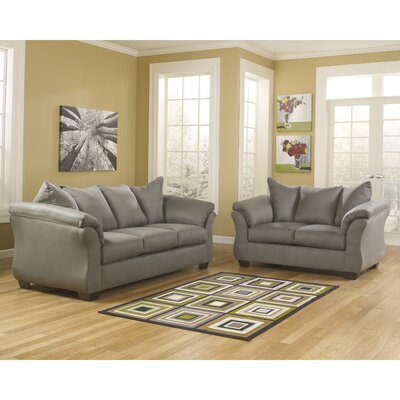 Chisolm 2 Piece Living Room Set Color: Cobblestone