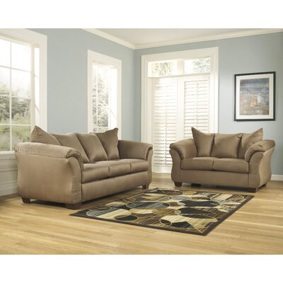 Lavery 2 Piece Signature Design by Ashley Living Room Set Color: Mocha