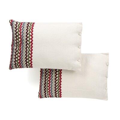 Fibonacci Cotton Lumbar Pillow