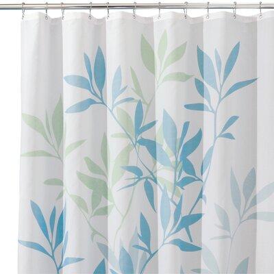 Lantz Shower Curtain Color: Blue/Green