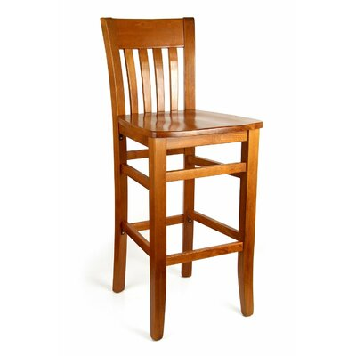 Baldemar 30 Bar Stool Finish: Cherry