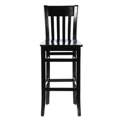 Baldemar 30 Bar Stool Finish: Black