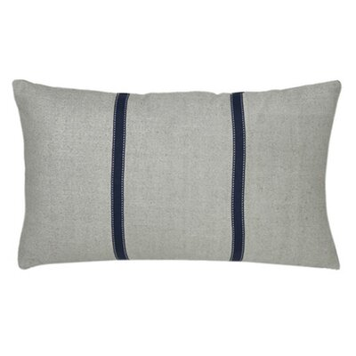 Shebeen Silk Lumbar Pillow Color: Powder Blue