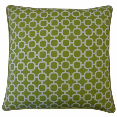 Hazlewood Outdoor Throw Pillow Color: Green