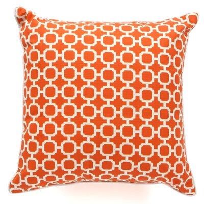 Hazlewood Outdoor Throw Pillow Color: Orange