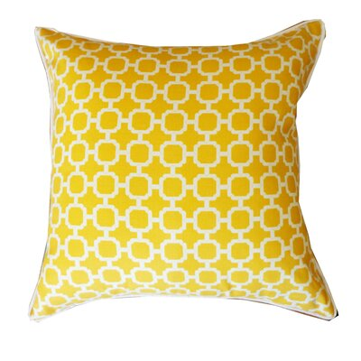 Hazlewood Outdoor Throw Pillow Color: Yellow