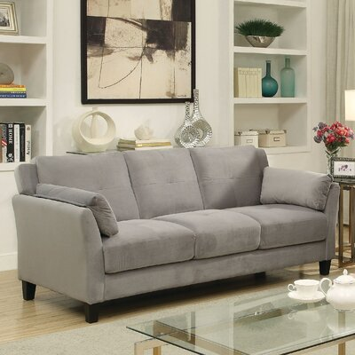 Chandeleur Contemporary Tufted Sofa Upholstery: Gray