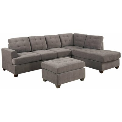Old Rock Reversible Sectional