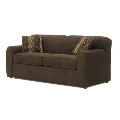 Waikiki Queen Sleeper Sofa Upholstery: Reggae Chocolate, Mattress Type: Memory Foam, Size: Twin