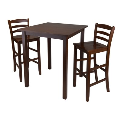 Auburn Road 3 Piece Pub Table Set