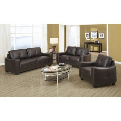 Rahr Leather Living Room Collection
