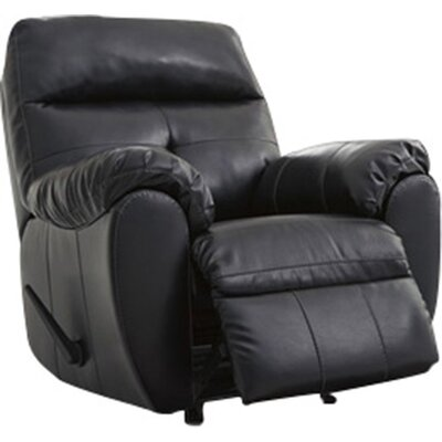 Armadillo Rocker Recliner Upholstery: Midnight