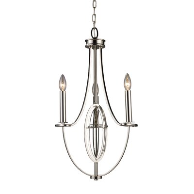 Danny 3-Light Candle-Style Chandelier