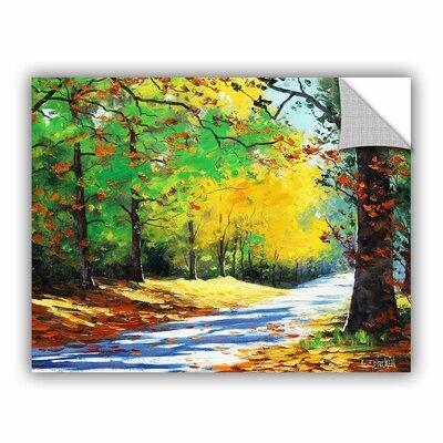 Vibrant Autumn Painting Print RDBS1999 27801971