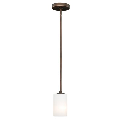 Listermann 1-Light Mini Pendant Finish: Sienna Bronze