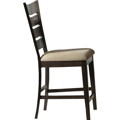 Dubuc Bar Stool (Set of 2) Color: Weathered Tobacco