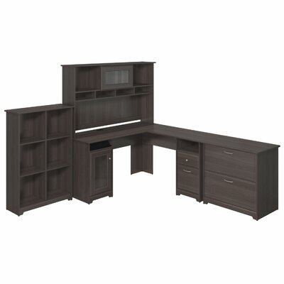 Check out the Desk Hutch Cube Bookcase Lateral File Product Photo