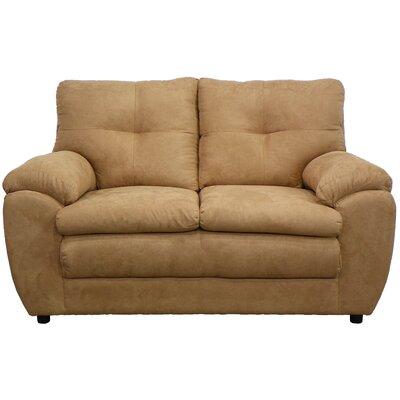 Beneduce Loveseat Upholstery: Bulldozer Mocha