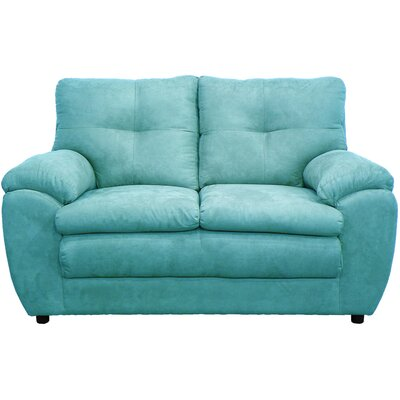 Beneduce Loveseat Upholstery: Mission Caribbean