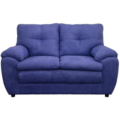 Beneduce Loveseat Upholstery: Cobalt
