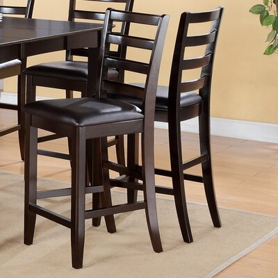 Tamarack 25 Bar Stool (Set of 2) Color: Cappuccino