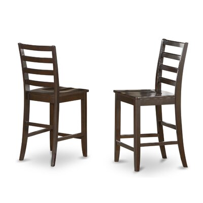 Tamarack 25 Bar Stool (Set of 2) Color: Wood Seat