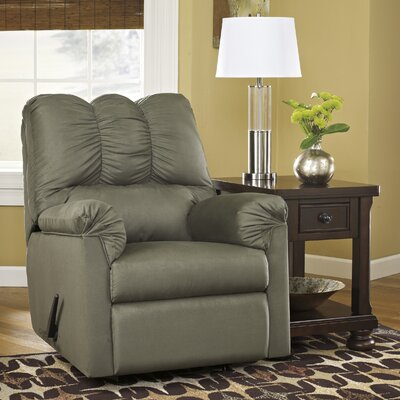 Chisolm Manual Rocker Recliner Upholstery: Sage