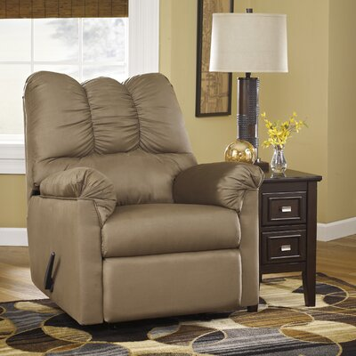 Chisolm Manual Rocker Recliner Upholstery: Mocha