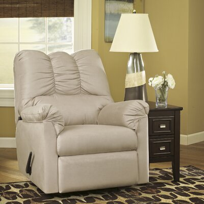 Chisolm Manual Rocker Recliner Upholstery: Stone