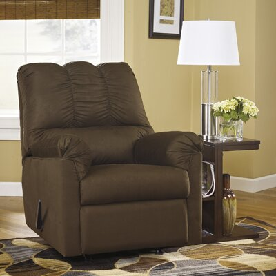 Chisolm Manual Rocker Recliner Upholstery: Caf�