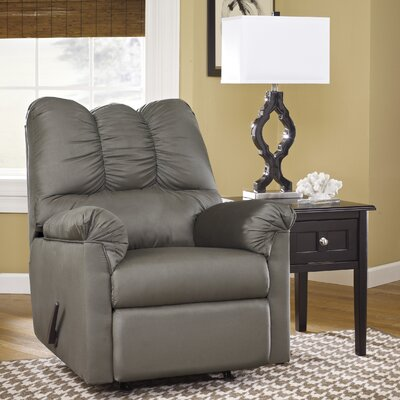 Chisolm Manual Rocker Recliner Upholstery: Cobblestone