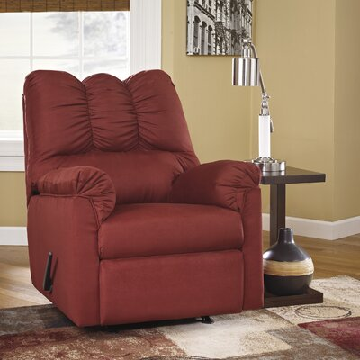 Chisolm Rocker Recliner Upholstery: Red