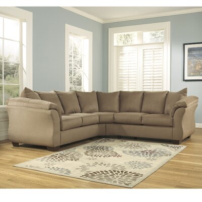 Chisolm Yards Sectional Upholstery: Mocha