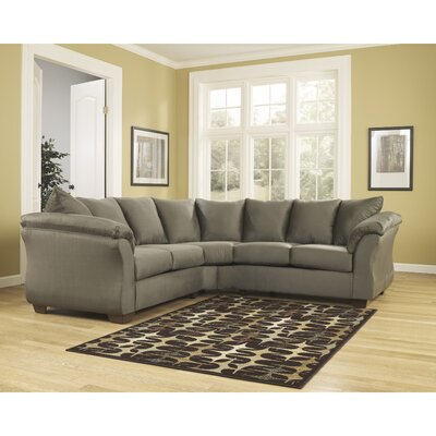 Lavery Yards Sectional Upholstery: Sage RDBS2361 27984456