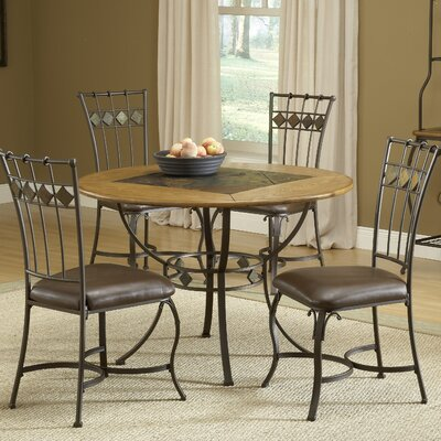 Boyers 5 Piece Dining Set