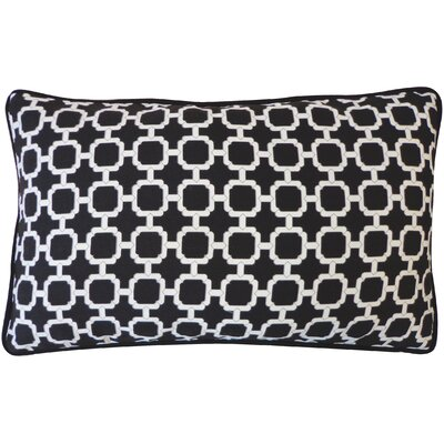 Hazlewood Outdoor Lumbar Pillow Color: Black