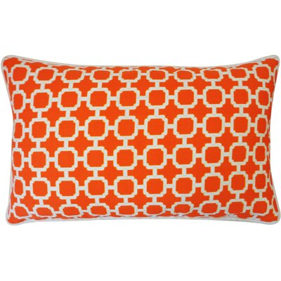Hazlewood Outdoor Lumbar Pillow Color: Orange