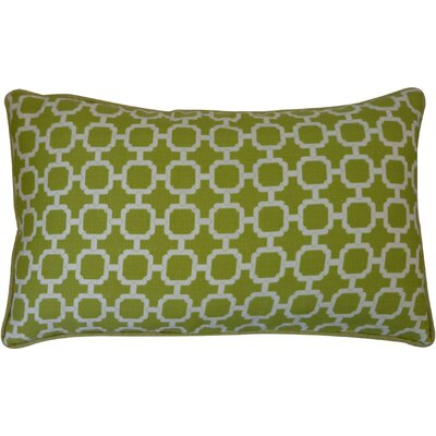 Hazlewood Outdoor Lumbar Pillow Color: Green