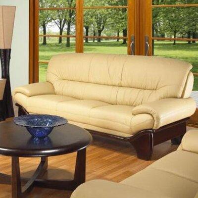 RDBS2414 27984519 RDBS2414 Red Barrel Studio Buttermilk Leather Sofa