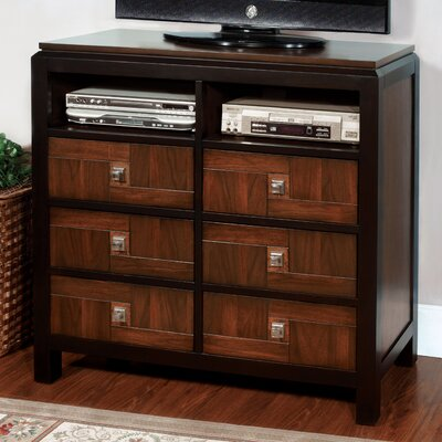 Diamondback 6 Drawer Dresser
