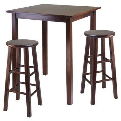 Auburn Road 3 Piece Counter Height Pub Table Set