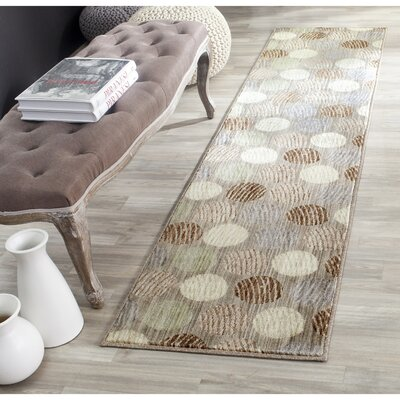 Railside Taupe/Beige Area Rug Rug Size: Rectangle 8 x 10